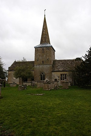Rodmarton - Image: Rodmarton church geograph.org.uk 323221