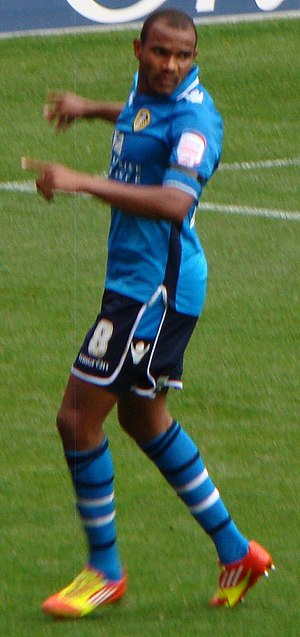 Rodolph Austin - Austin playing for Leeds United in 2012
