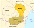 Romania - Division territòriala vèrs 1750.png