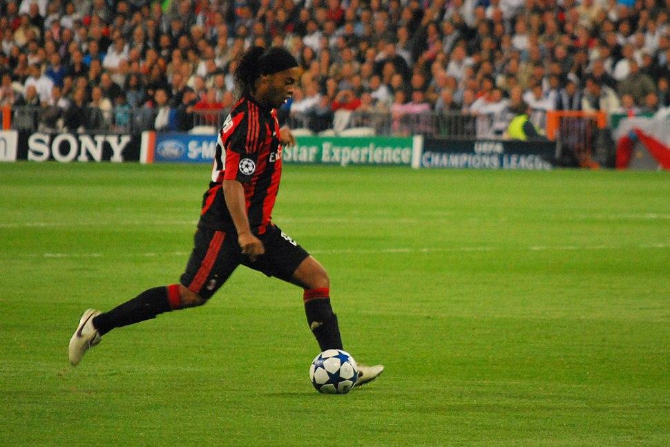 Ronaldinho Real Madrid-Milan