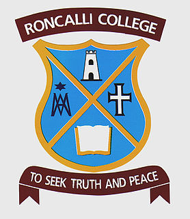 Roncalli College Co-educational, secondary (year 9-13) school