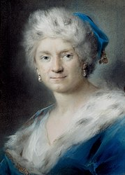 "Rosalba Carriera: Self-Portrait as ""Winter"""