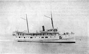 Rosalie (steamship) - Rosalie