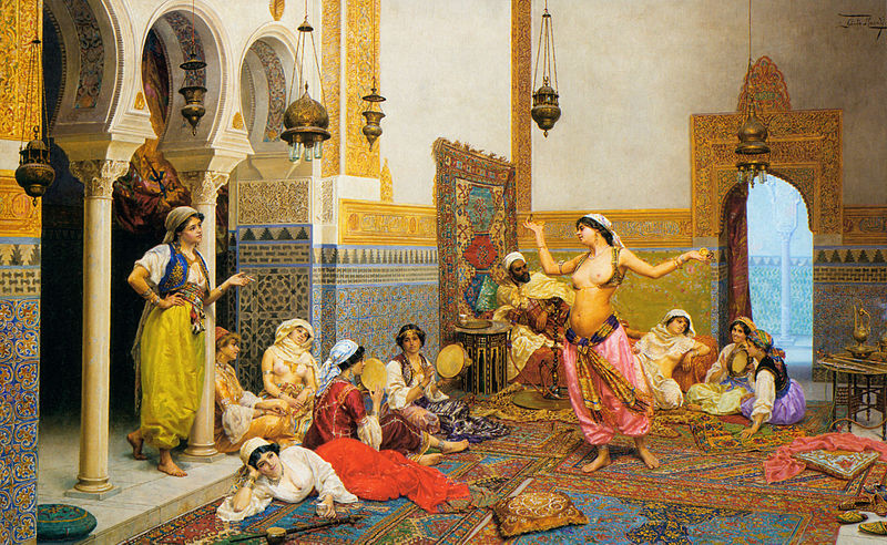 Suasana Harem di Turki (wikipedia)