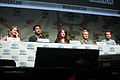 Rose McIver, Rahul Kohli, Diane Roggiero-Wright, David Anders & Robert Buckley (16872115949).jpg