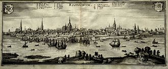 Rostock - Rostock in the 17th century
