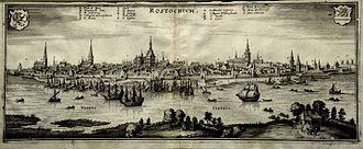 Rostock - Rostock in the 17th century