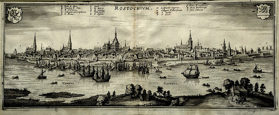 Rostock um 1650
