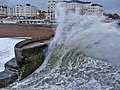 Rough Sea near Palace Pier, Brighton - geograph.org.uk - 75302.jpg