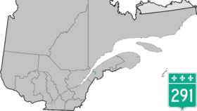 Image illustrative de l'article Route 291 (Québec)