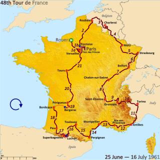 1961 Tour de France cycling race