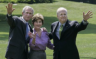 Karl Rove in the George W. Bush administration