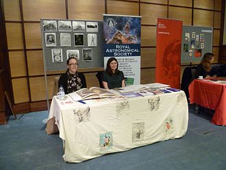 Royal Astronomical Society - The Royal Astronomical Society at the University of London History Day, 2016.