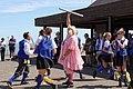 Royal Liberty Morris with 'molly' at Broadstairs Folk Week 2017, Kent, England 6.jpg
