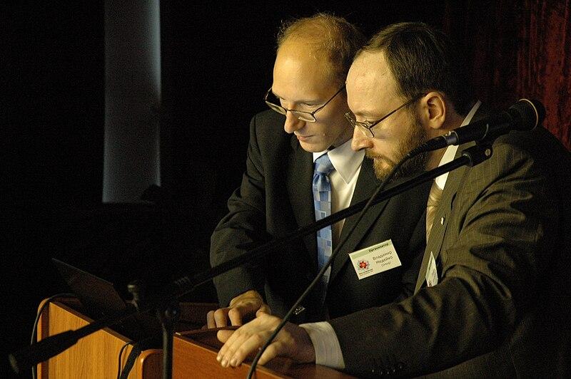 File:RuWiki.Confer.20071027.DrBug & Kaganer.jpg