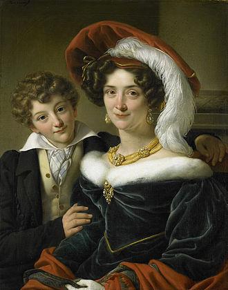Johannes van den Bosch - Second wife and son of Count van den Bosch by Cornelis Kruseman.