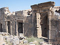 Ruins in Citadel at Bosra, Syria. (II).jpg