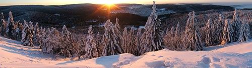 Sunrise on the Ruppberg
