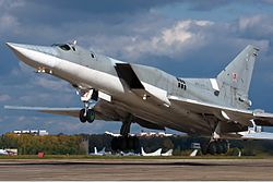 Russian Air Force Tupolev Tu-22M3 Beltyukov