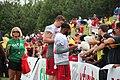 Ryan Schraeder and Justin Hardy signing autographs (20301691166).jpg