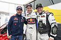 Sébastien Loeb, Mattias Ekström (EKS), Petter Solberg (27943526062).jpg