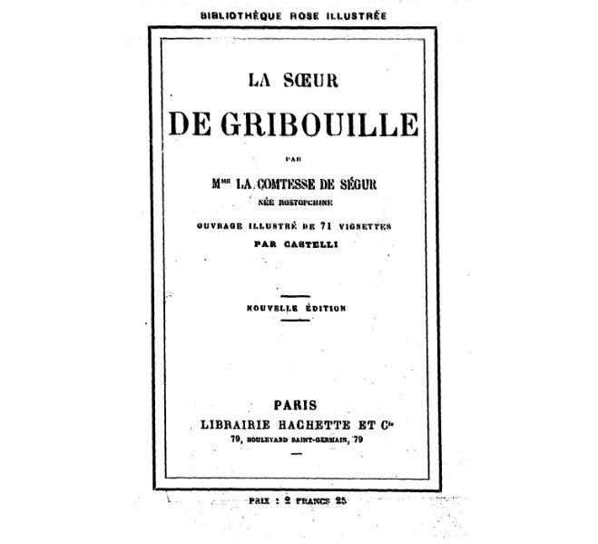 File:Ségur - La soeur de Gribouille, Hachette, 1918.djvu