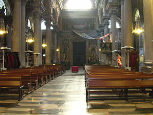 Santa Maria delle Vigne - Interior.