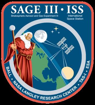 SAGE III on ISS - SAGE III – ISS logo