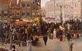 SA 561-Optocht van de Nassau's in de Nederlanden op het Sophiaplein te Amsterdam.jpg