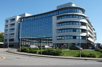 Sussex Coast College Hastings - Image: SCCH plaza building front 2015