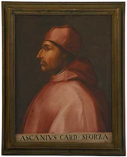 Ascanio Sforza 1455-1505, Italian Cardinal of the Catholic Church