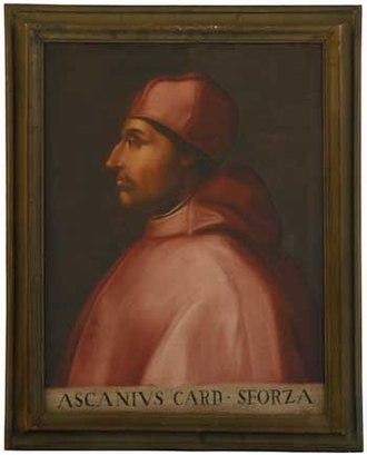 Ascanio Sforza - Image: SFORZA ASCANIO 1755