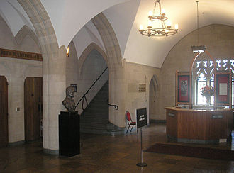 Stephen Foster Memorial - Fred Kelly Lobby.