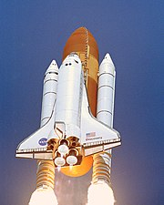 Space Shuttle Discovery STS-114 launch on July 26, 2005.