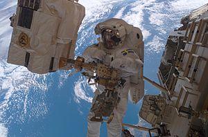 Christer Fuglesang - Christer Fuglesang participating in EVA on STS-116