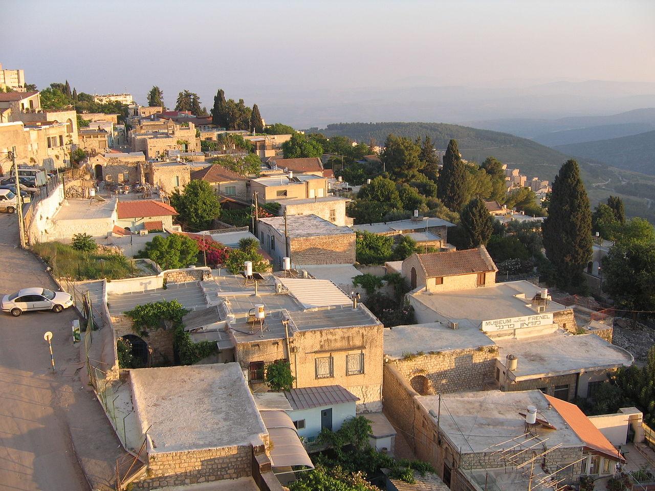 Wohnviertel in Safed