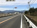 Saga Prefectural Road No.42 near Ishiki Crossroads.jpg