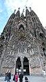 Sagrada Familia Nativity Facade Panorama.JPG