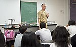 Sailors and Marines from USS Bonhomme Richard visit students in Guam 120928-N-WX580-089.jpg