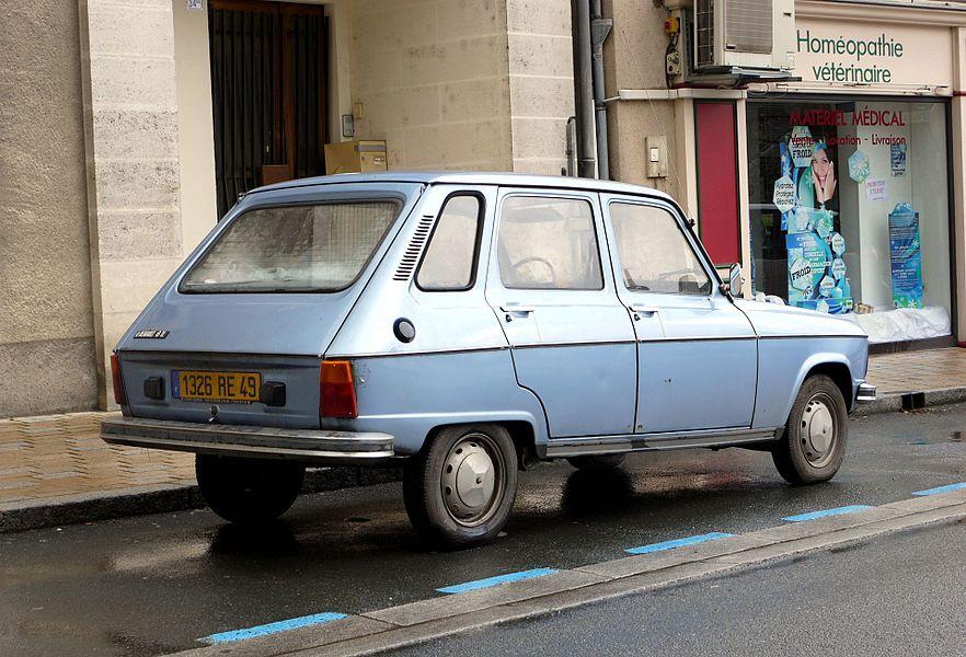 Renault 6 TL phase II.