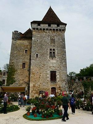 Saint-Jean-de-Côle - Image: Saint Jean de Côle floralies 10