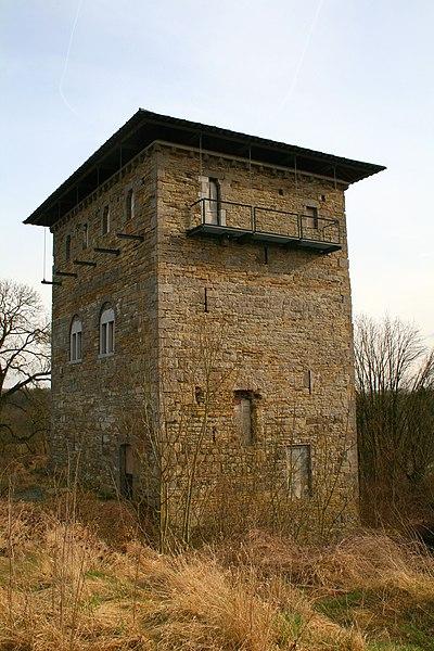 Saint-Martin (Belgium), the Villeret keep (XIIIth century).