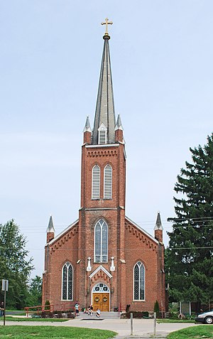 St. Patrick's Parish Complex - Image: Saint Patricks Ann Arbor MI