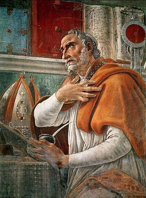 Intercession of saints - Image: Saint Augustine Portrait
