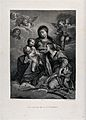 Saint Catherine of Alexandria. Engraving by F. Vendramini af Wellcome V0033433.jpg