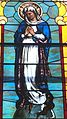 Saint Patrick Church (Bellefontaine, Ohio) - stained glass, Immaculate Conception.JPG