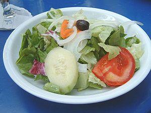 Entrée - Image: Salatteller