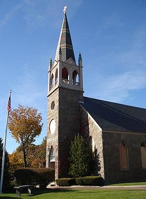 Faith Lutheran Church (Quincy, Massachusetts) - Image: Salem Lutheran Church Quincy MA