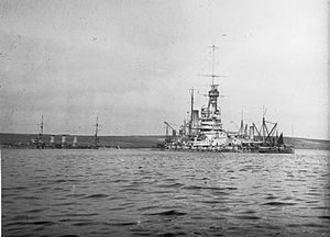SMS Baden - Image: Salvage at Scapa Flow