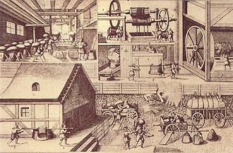 Salt - Salt production in Halle, Saxony-Anhalt (1670)